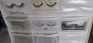Store and organize your false eyelashes