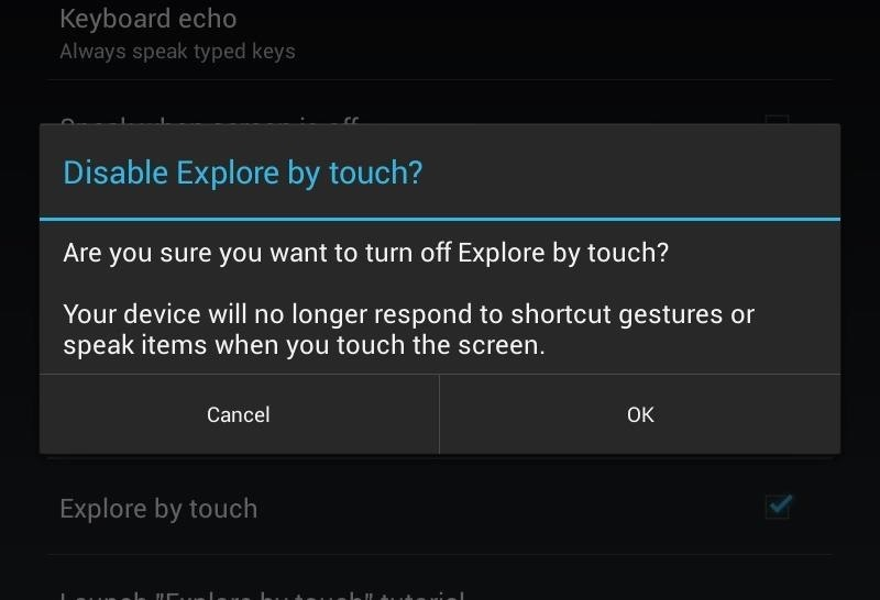 How to Fix Lock Screen Issues When TalkBack & Explore by Touch Are Enabled on Your Samsung Galaxy Note 2