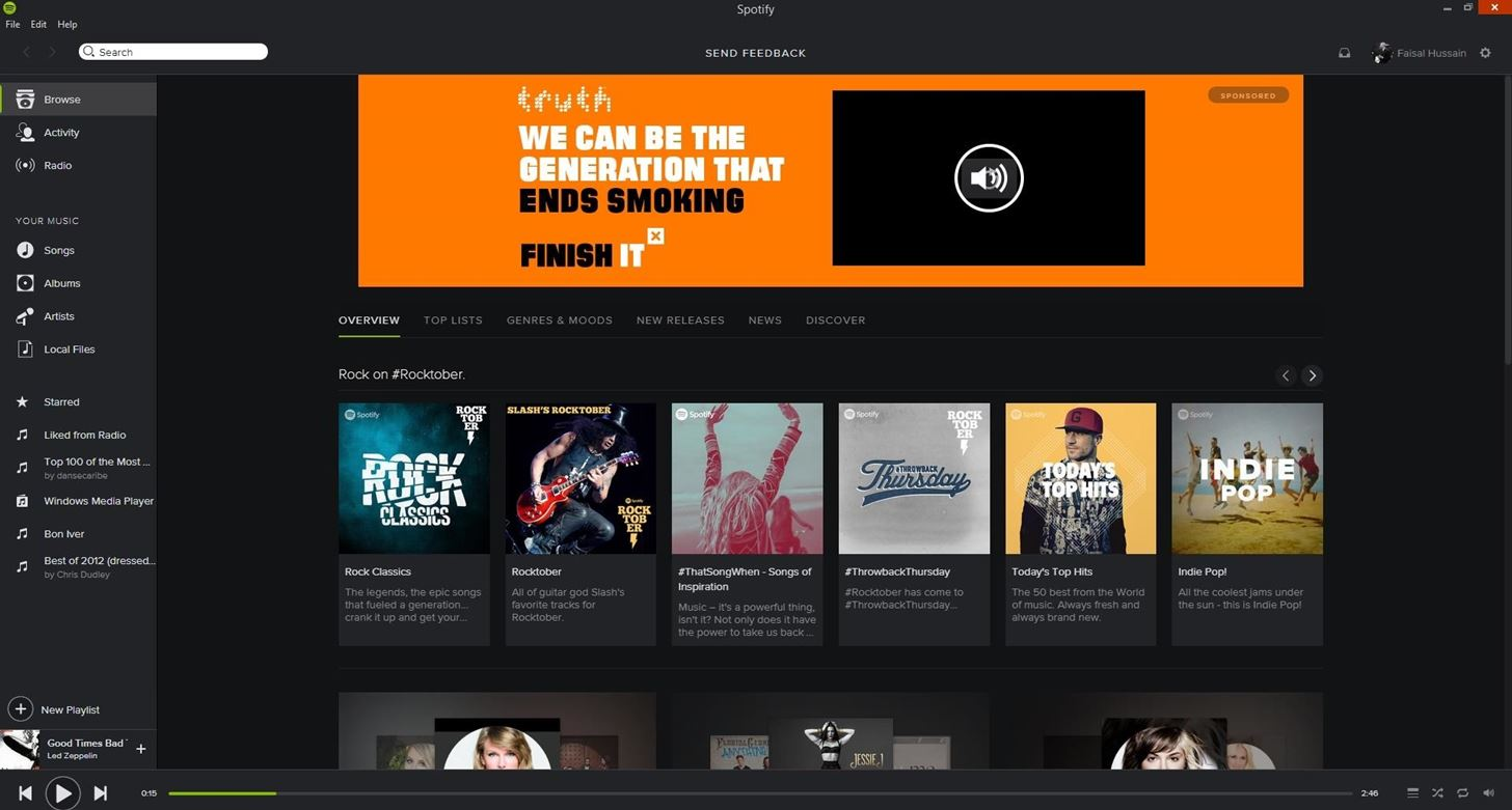 Get Spotify's Desktop Beta App for Mac & Windows (Now with Touch)