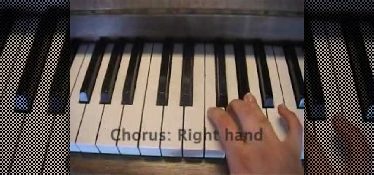 How To Play Everytime We Touch By Cascada On Piano Piano