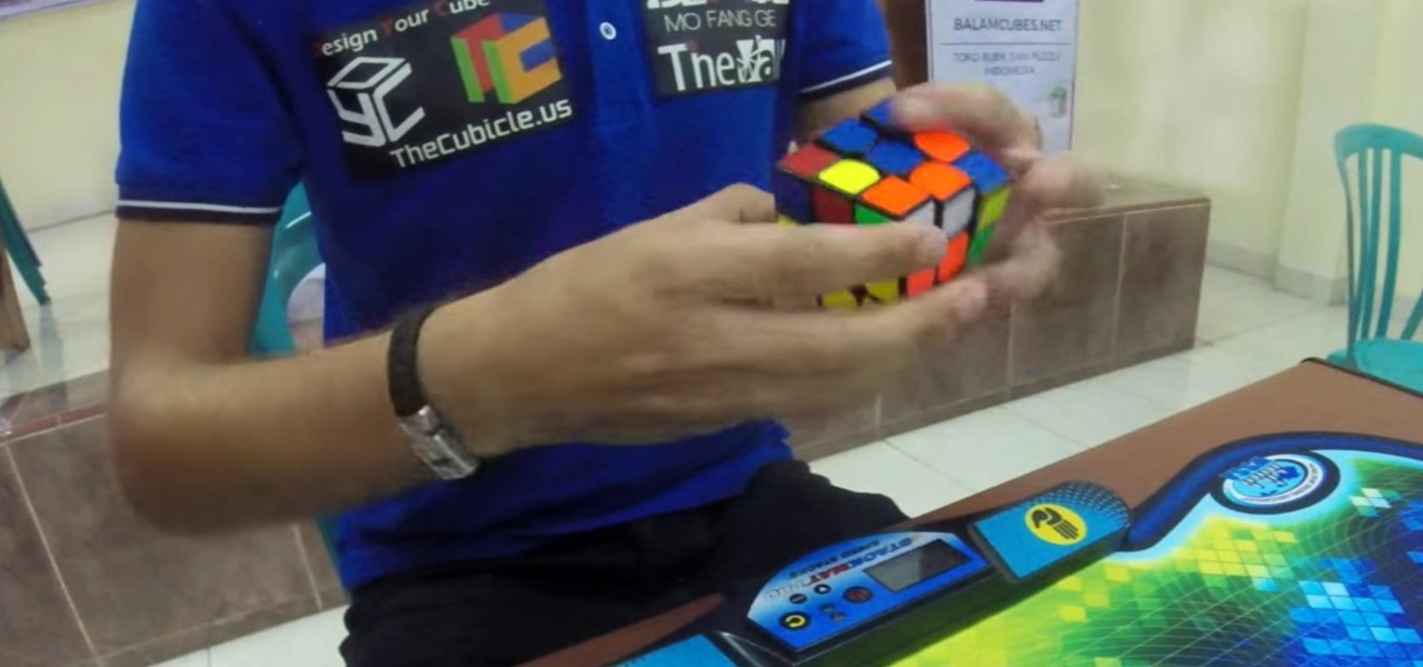Rubik's Cube World Record Gets Shattered in 4.74 Seconds