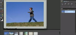 Replace a sky in Adobe Photoshop Elements (PSE)