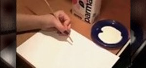 Make invisible ink with milk
