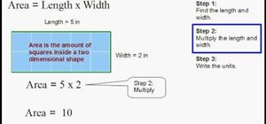 Find the area of a rectangle quickly and easily