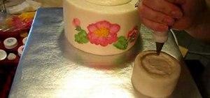 Make a teapot cake