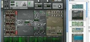 Use the Thor Polysonic Synethesizer in Reason