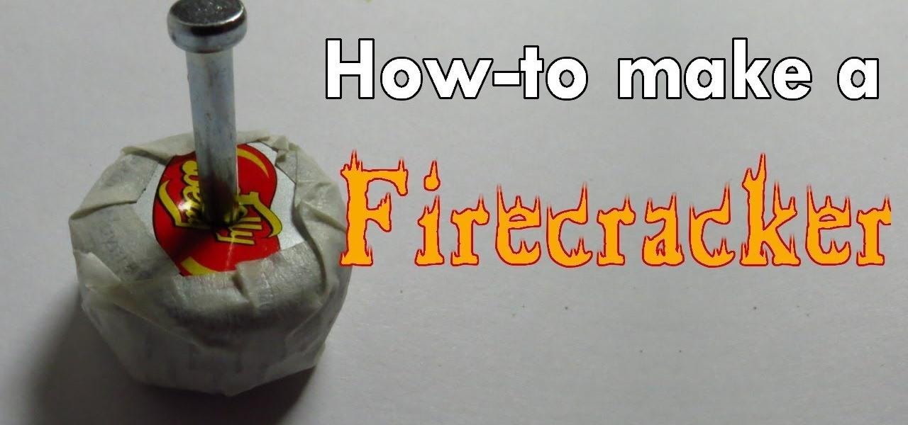Make a Firecracker