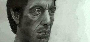 Draw Tony Montana (Al Pacino) from Scarface