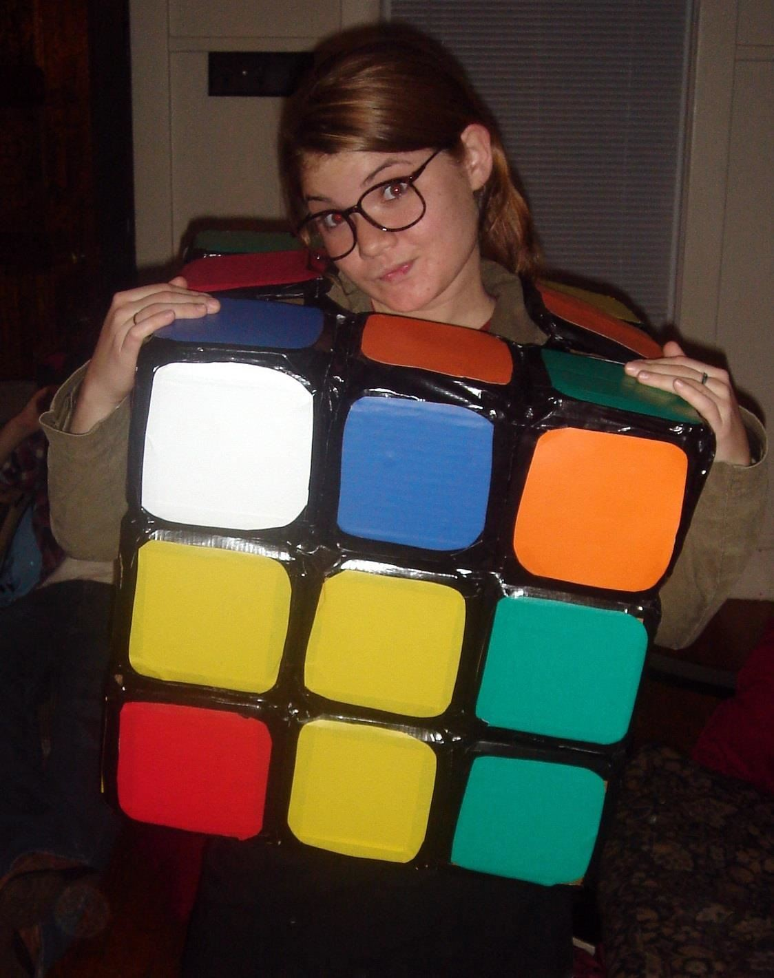 5rubiks cube puzzle costume - Good Halloween Costumes For Big Guys