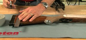 Adjust the length of pull on a rifle stock