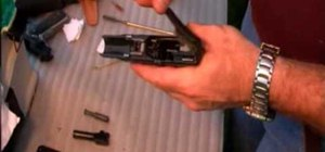 Clean and lubricate the Glock firearm