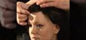 Puton a wig like a professional