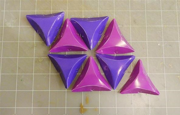 How to Make Yin-Yang Modular Polyhedra