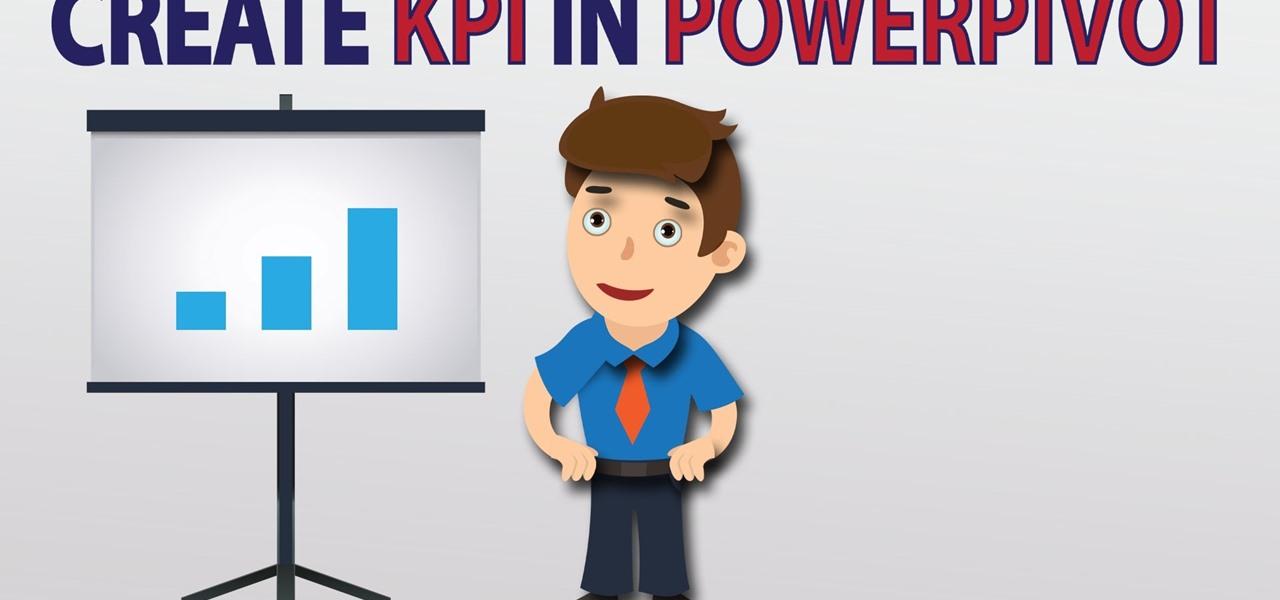 How to Create KPI Dashboard Using Excel 2013 PowerPivot