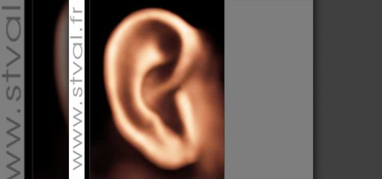 How to Draw a realistic ear in Photoshop « Photoshop