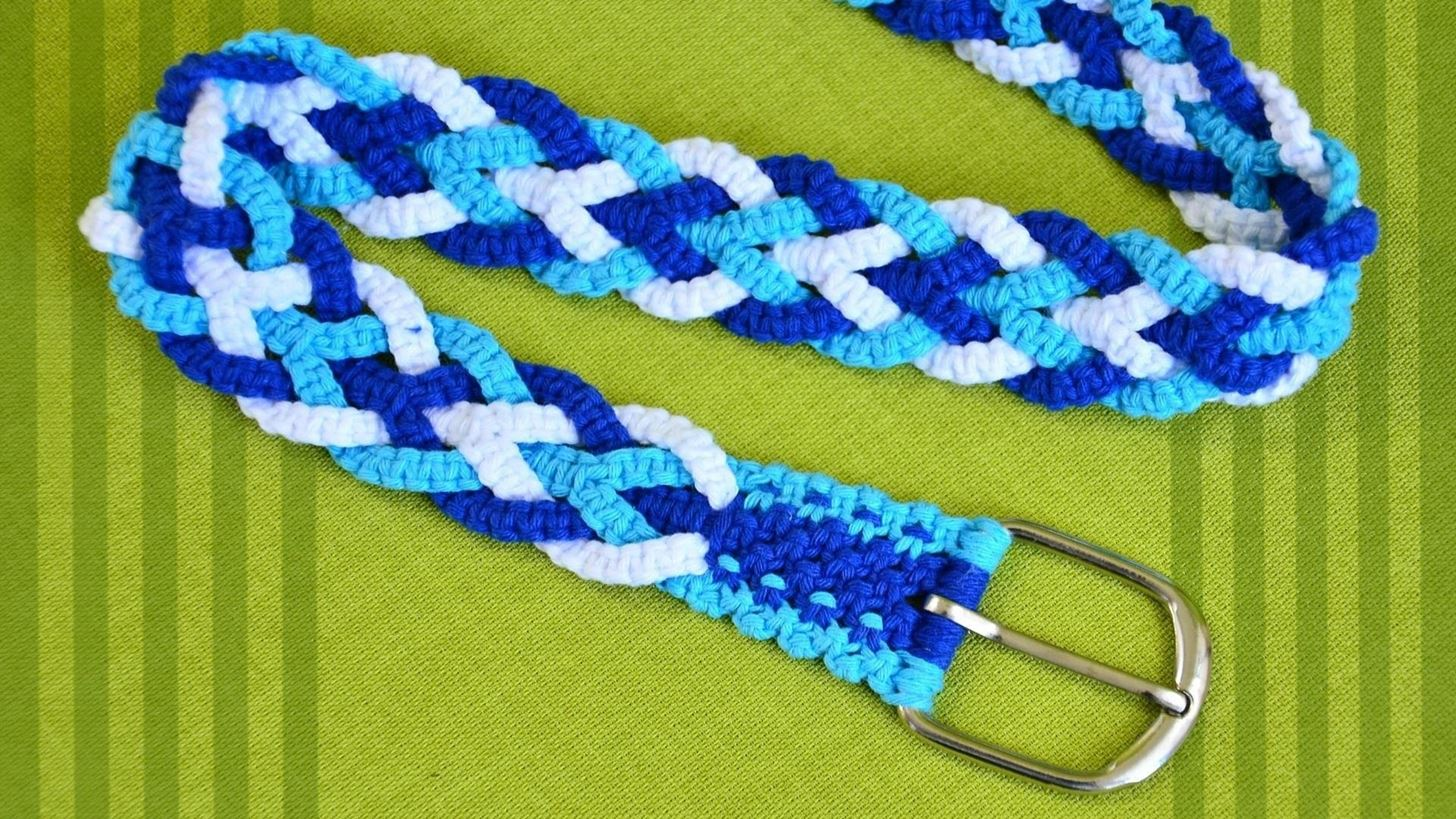 How to Make a Macrame Belt « Sewing & Embroidery ... - photo#14
