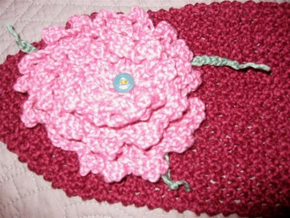 How to Knit a Decorative Flower