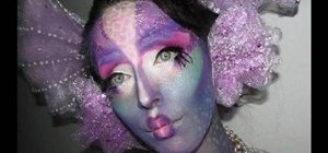 Create a dazzling mermaid Halloween makeup look