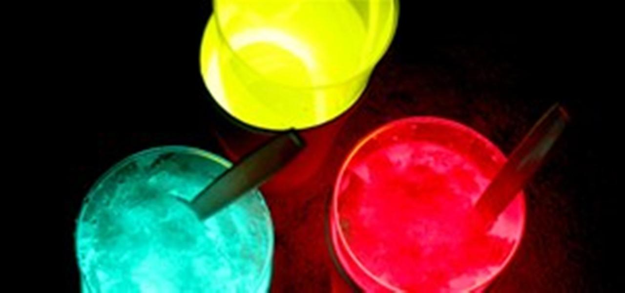 HowTo GlowintheDark Sno Cones Kids Activities WonderHowTo