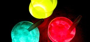 Glow-in-the-Dark Sno Cones
