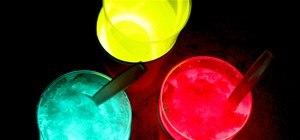 Glow-in-the-Dark Sno Cones