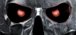 Morph a human skull into a Terminator robot