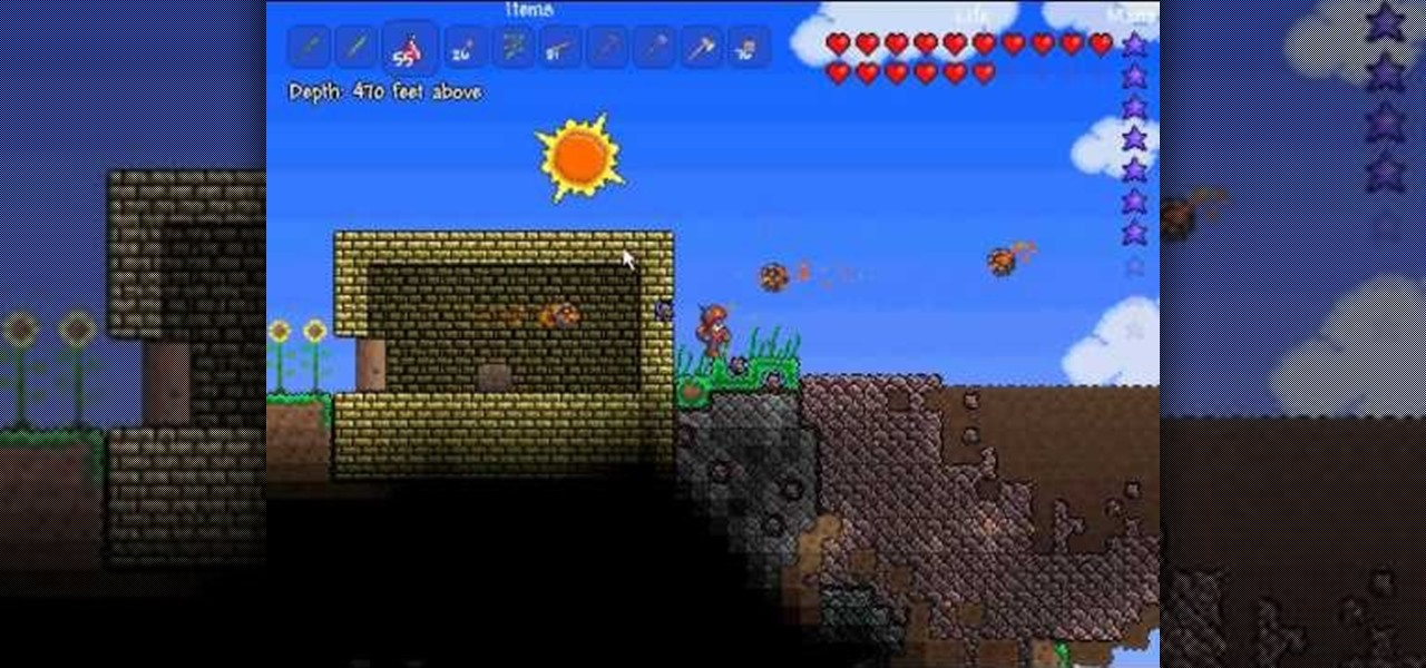 How to Get in game inventory edit in Terraria « PC Games