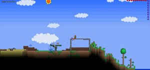 Make a killer death trap in Terraria