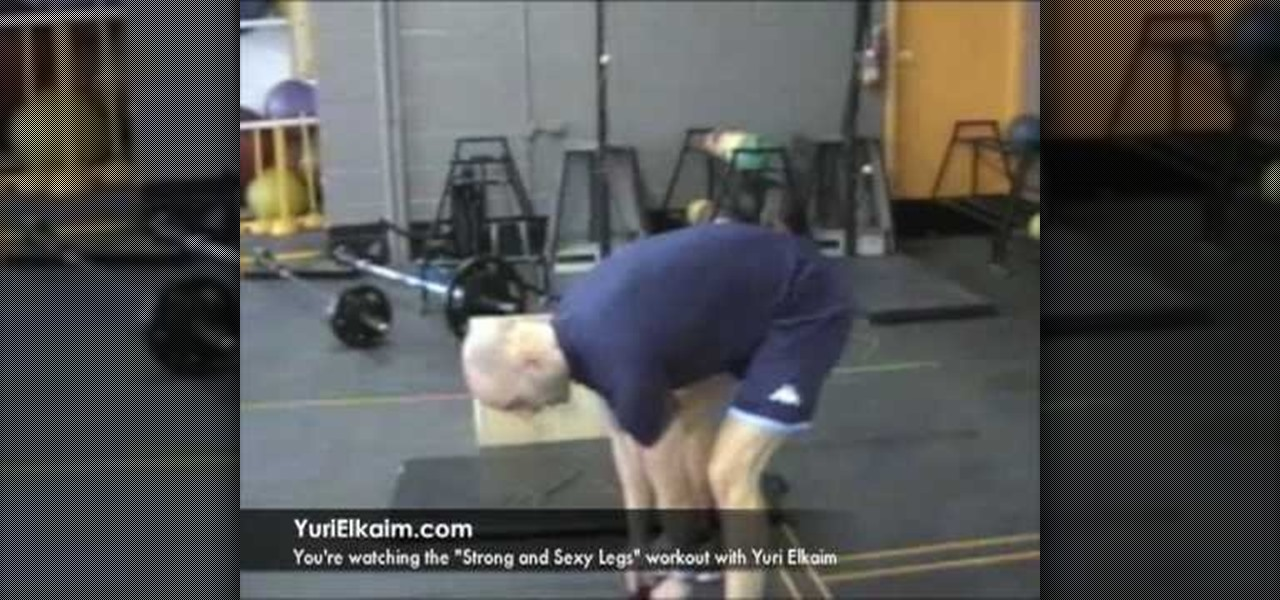 How to Build... How To Make Legs Stronger