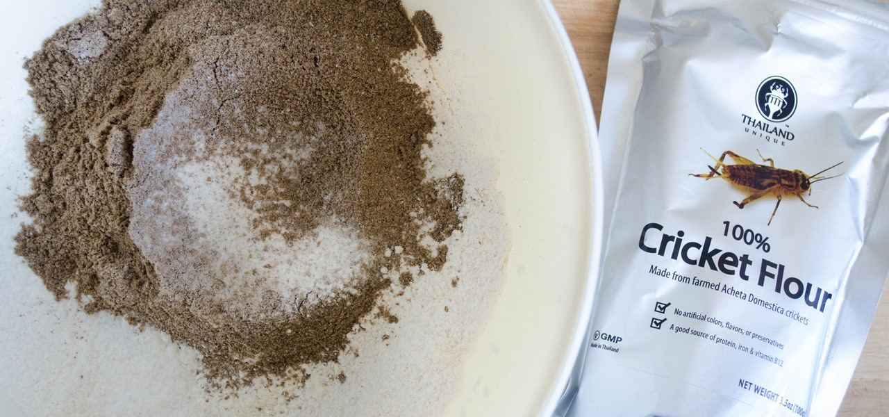 Baking with Cricket Flour Is Not as Gross as You Think
