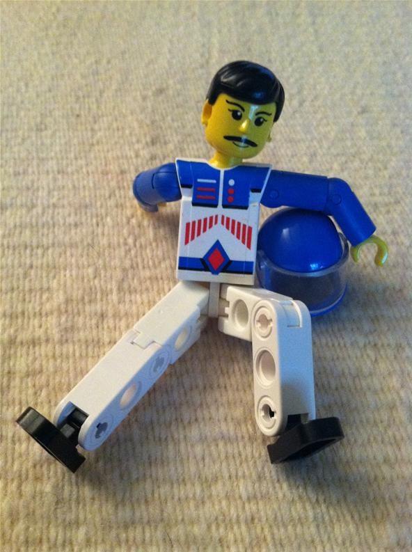 Smartphone Challenge: Sexy Lego Man