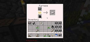 Mine iron ore and smelt it in Minecraft