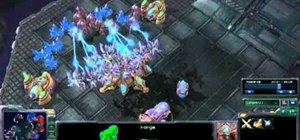 Use the Dark Templar rush strategy in StarCraft II: Wings of Liberty