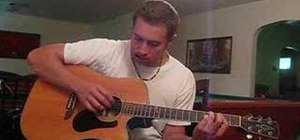 "Play ""5:19"" by Matt Wertz on acoustic guitar"