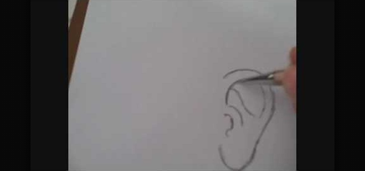 How To Draw A Human Ear Drawing Illustration Wonderhowto