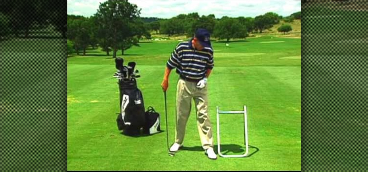 How to Rotate your hips to cure a push shot in golf « Golf