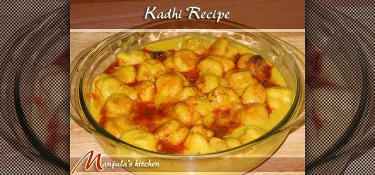 How to cook indian kadhi pakoras with manjula sauces dips how to cook indian kadhi pakoras with manjula sauces dips wonderhowto forumfinder Image collections