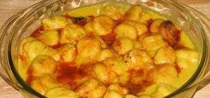 Cook Indian kadhi pakoras with Manjula