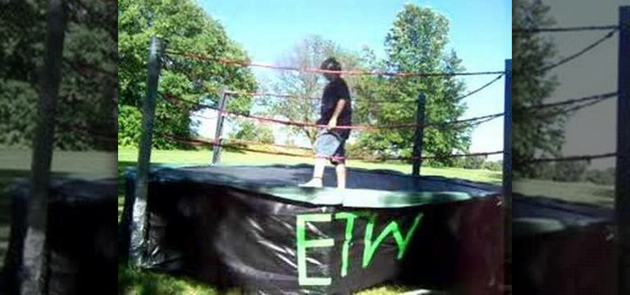 how to make a wrestling ring wrestling