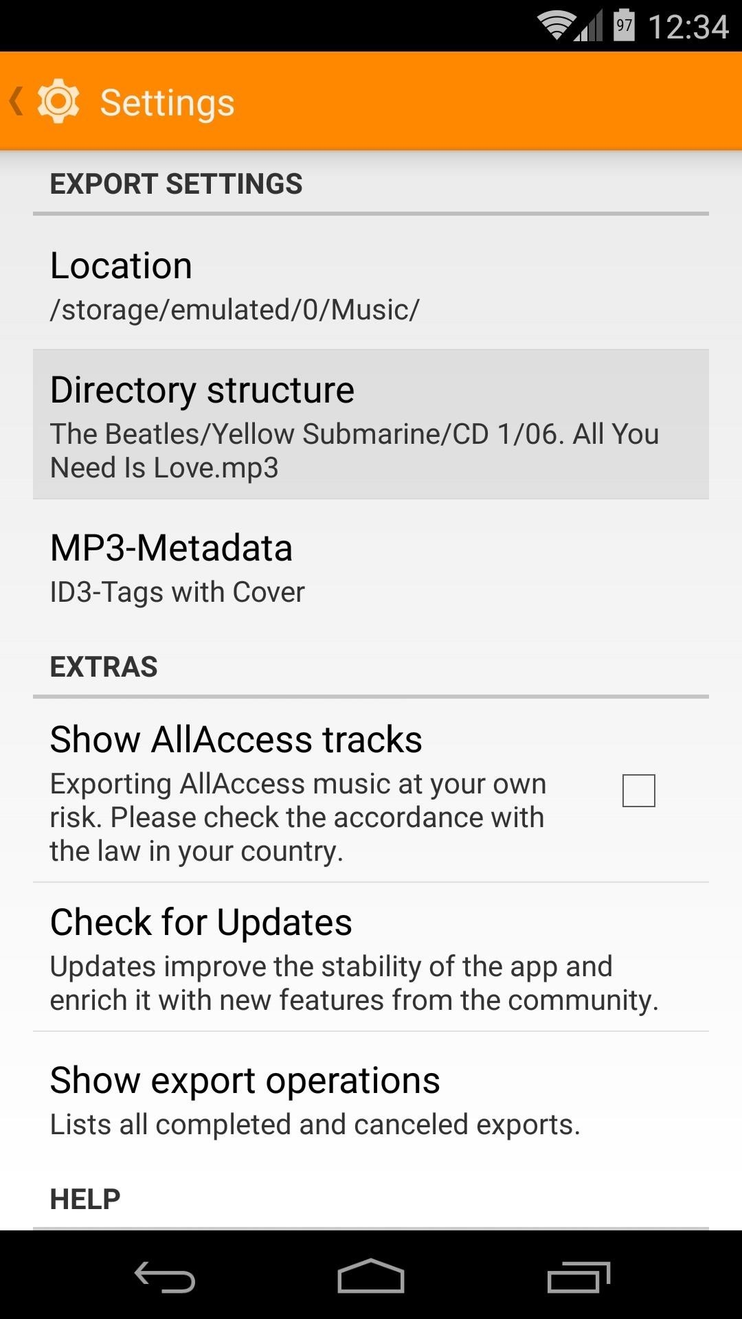 how to use google play music offline