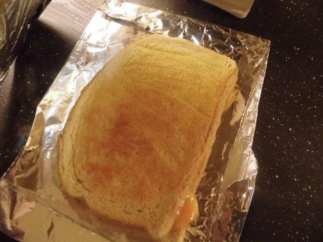 How to Cook a Stoveless Grilled Cheese Sandwich