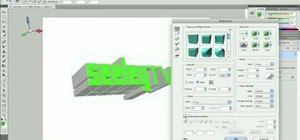 Use the 3D design tools in Adobe Photoshop CS5