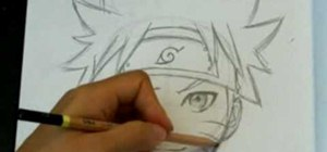 Draw Naruto (face and head)