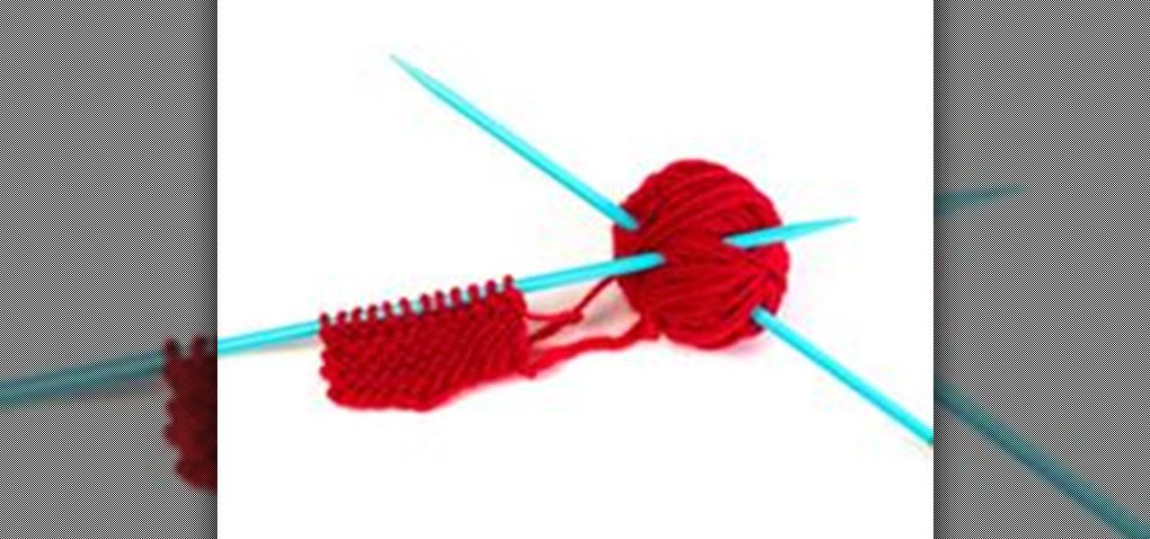 Knitting Seed Stitch Decrease : How to Knit a Flower Headband   Knitting & Crochet :: WonderHowTo