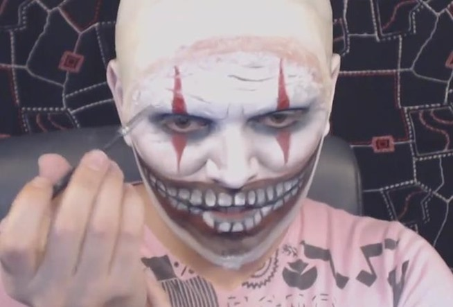 Ahs Freak Show Diy Twisty Clown Makeup Fx Ideas For Halloweenw