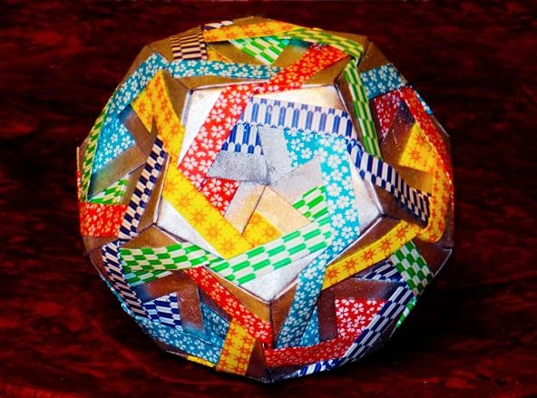 My Sonobe Jasmine Dodecahedron