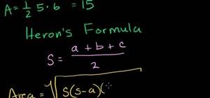 Use Heron's formula