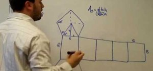 Find surface area of a prism using a specific example
