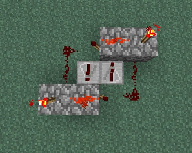 How to send redstone signals both ways with this two way repeater