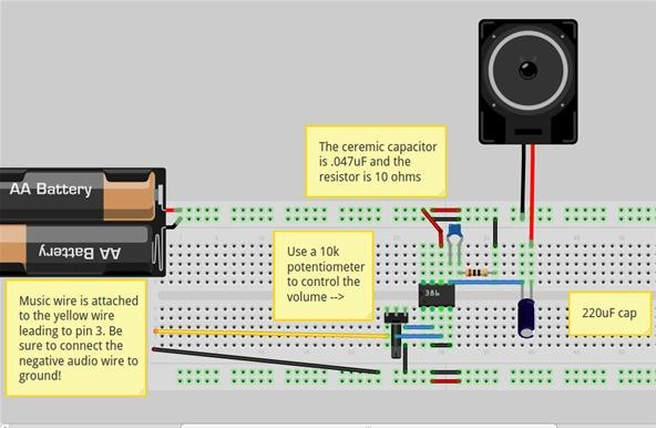 Build Your Own Circuit - Radio Wiring Diagram •
